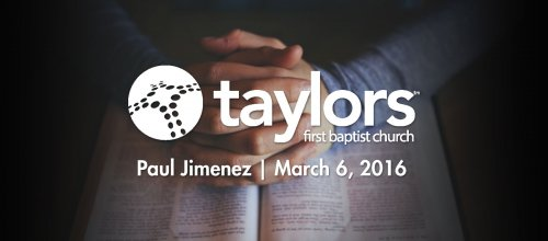 Paul Jimenez | March 6, 2016